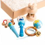 Набор погремушек Морской в подарочной коробке ТМ Вальда