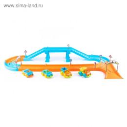 Игровой набор «Автодорога» 1,8 м с машинками