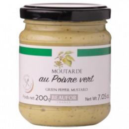 Французская горчица с зелёным перцем, 200 гр.