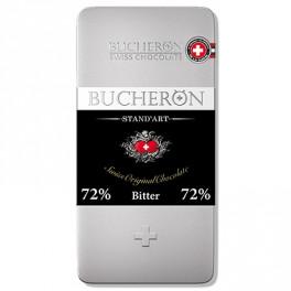 BUCHERON ГОРЬКИЙ ШОКОЛАД (72 % какао-продуктов) 100гр ж/б уп