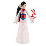 Mulan Classic Doll with Mushu Figure - 12''