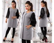 Кашемировое пальто - 10156