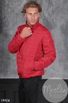 Мужская куртка 19904 красный
