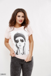 Женская футболка 18642