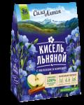 """Кисель льняной с яблоком и корицей """"Сила Алтая"""" 150 гр"""