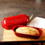 Форма для выпечки итальянского хлеба, цвет: гранат
