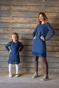 Платье Пушки взрослое  Family look Премиум бренд Одежда люкс