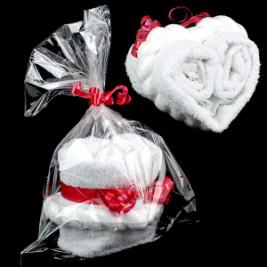 """Подарочное полотенце """"Сердце"""""""