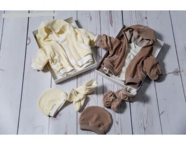 Комплект из 5 предметов для новорожденных