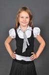 Блуза Жилет галстук (короткий рукав) 1889