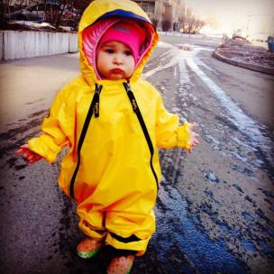 непромокаемый комбинезон Мадди-Бадди(желтый)