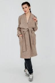 Легкое пальто Exalta, бежевый меланж