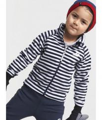 Куртка для детей MONTE KIDS PRINT 908 полоска синяя, 130 р.