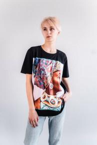 Женская футболка CR-0024-WHT от Caramella