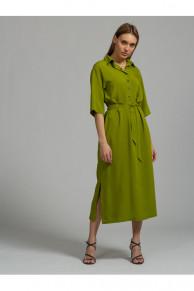 100437 Платье (VEREZO)Оливковый