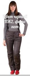 Женские брюки - комбинезон, модель ПЖ2 (цвет черный)