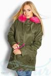 Цветная куртка парка