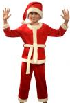 Детский костюм Санта-Клаусенок с колпаком (1038). Расцветка: