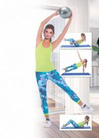 Мяч для фитнеса, йоги и пилатеса «ФИТБОЛ-25»