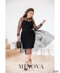 Платье №284-Черный