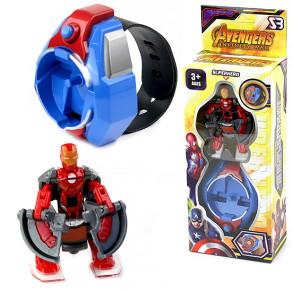 Браслет с роботом-трансформером Супергерой