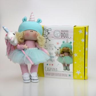 К66-1 Сабрина. Набор для шитья куклы