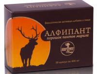 Алфипант (порошок пантов марала) 30 капс