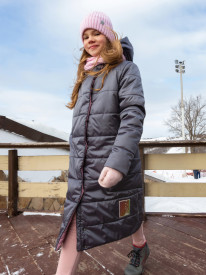 Пальто для девочки от 0°С до -30°С
