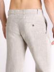 Мужские льняные брюки / ЦВЕТ:  натуральный
