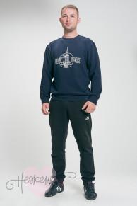 Толстовка мужская ТМ 001 (темно-синий)