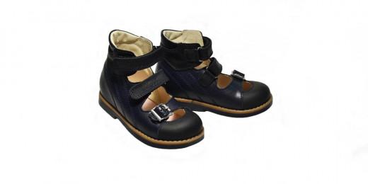 Туфли для девочки ОРТО ECOBY