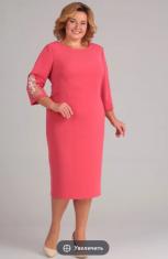 Платья Модель 01-561 алый Elga      Производитель: Elga (Бел