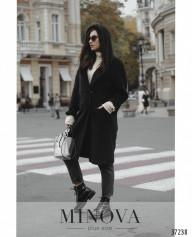 Пальто №0333-Черный