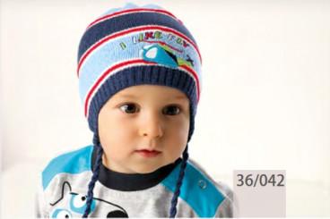 Комплект шапка +снуд