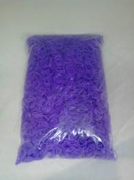 Набор резинок для плетения в пакетике 10000 шт фиолетовый