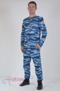 Комплект мужской КМ 003 (камужляж синий)