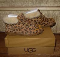 Леопардовые UGG, размер 29(18,5см.). Осень-весна