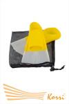 Короткие пластмассовые Ласты для бассейна Размер: 30-32