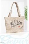 Пляжная плетенная сумка Gepur