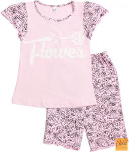 Пижама для девочек-1 0016-55-140