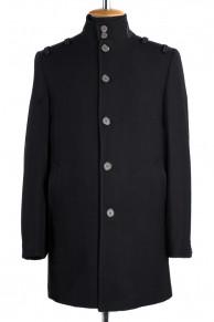07-0034 Пальто мужское утепленное (Рост 176) Сукно Черный