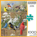 Buffalo Games Hautman Brothers: Songbird Menagerie - 1000