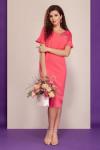платье Dilana VIP Артикул: 1506 коралл