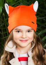 3Весенняя детская шапка Лиса Shumi Design