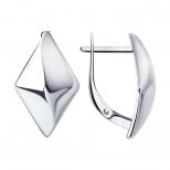 Серебряные серьги 94-120-00610-1 Diamant