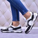 Женские кожаные кроссовки (мягкий текстиль/экомех)