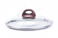 Крышка стеклянная, 26см «КРОСС» (Cross Glass Lid 26cm)