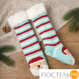 "Носки женские MINAKU ""Дед Мороз"", вид 1, размер 23, цвет гол"