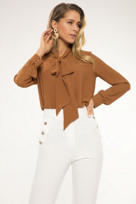 блуза LaVeLa Артикул: L50082 карамельный