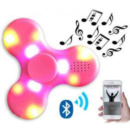 Музыкальный Bluetooth спиннер с LED подсветкой